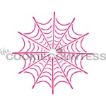 Cookie Countess Stencil - Spider Web_THUMBNAIL