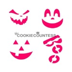 Cookie Countess Stencil - Pumpkin Carvings