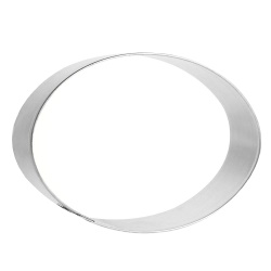 Oval Cookie Cutter LARGE