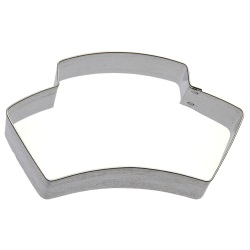 Nurse Cap Cookie Cutter LARGE