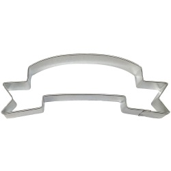 Banner Cookie Cutter LARGE