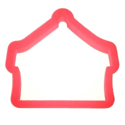 Circus Tent Cookie Cutter LARGE