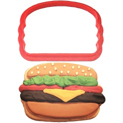 Hamburger Cookie Cutter