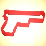 Handgun Cookie Cutter THUMBNAIL