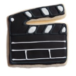 Director's Clapper Board Cookie Cutter