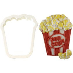 Box of Popcorn Cookie Cutter