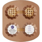 Wilton 4-Cavity Mini Pie Pan
