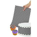 Wilton Sugar Sheets! Edible Decorating Paper - Chevron
