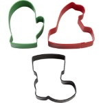 Wilton Winter Wear Cookie Cutter Set