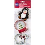Wilton Polar Christmas Cutter Set