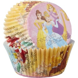 Wilton Standard Baking Cups - Disney Princess_LARGE