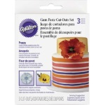 Wilton Gum Paste Poppy Cut-Outs Set THUMBNAIL