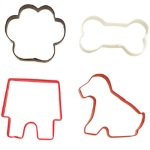 Wilton 4-Piece Pet Cookie Cutter Set