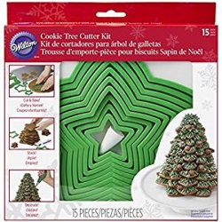 Wilton Cookie Tree Cutter Set LARGE