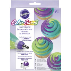 Wilton Color Swirl Decorating Set LARGE
