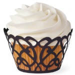 Wilton Black Swirls Cupcake Wraps