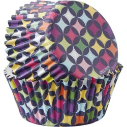 Wilton Diamond Pattern ColorCups Standard Baking Cups