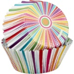 Wilton Dotted Line Striped ColorCups Standard Baking Cups