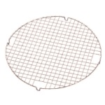 "Wilton 13"" Round Chrome-Plated Cooling Grid"