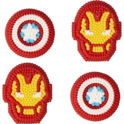 Wilton Icing Decorations - Avengers