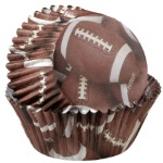 Wilton Football ColorCups Standard Baking Cups