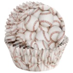 Wilton Baseball ColorCups Standard Baking Cup THUMBNAIL