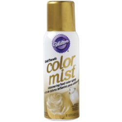 Wilton Color Mist Food Color Spray - Gold LARGE