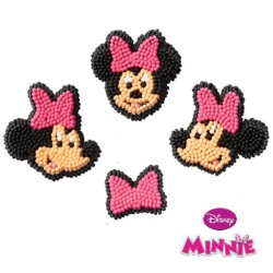 Disney Mickey Mouse Clubhouse Minnie Icing Decorations LARGE