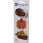Wilton Thanksgiving Dinner Cutter Set