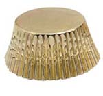 Standard Baking Cups - Foil - Gold