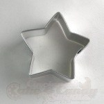 "Star Cookie Cutter - 2-3/4"" - Stainless Steel"