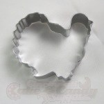 Gobbler Turkey Cookie Cutter - Stainless Steel