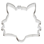 Fox Cookie Cutter - Face THUMBNAIL