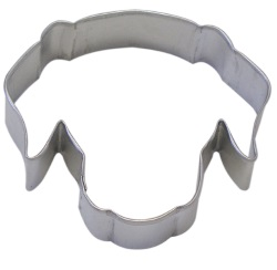 Dog Face Cookie Cutter LARGE