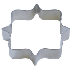 "Square Plaque Cookie Cutter - 4-1/4"" LARGE"