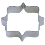"Square Plaque Cookie Cutter - 4-1/4"" THUMBNAIL"