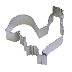 "Rooster Cookie Cutter - 4"" LARGE"