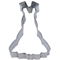 Dress w/Straps Cookie Cutter LARGE