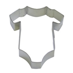 "Baby Onesie Cookie Cutter - 4"" LARGE"
