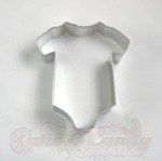 Baby Onesie Cookie Cutter - 4""