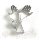 Ladies Gloves Cookie Cutter