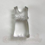 Dress Cookie Cutter - 2-3/4""