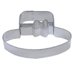 "Ladies Hat Cookie Cutter - 2-1/4"" THUMBNAIL"
