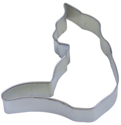 Cat Cookie Cutter - Curled