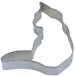 Cat Cookie Cutter - Curled THUMBNAIL