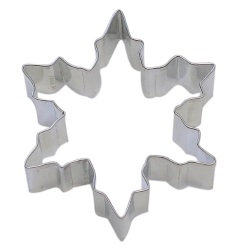 "Snowflake Cookie Cutter - 3-1/2"" LARGE"