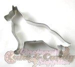 Dog - German Shepherd (Standing) Cookie Cutter