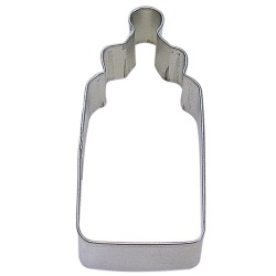 "Baby Bottle Cookie Cutter - 4"" LARGE"