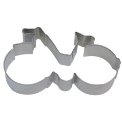 "Bicycle Cookie Cutter - 5-1/2"" LARGE"