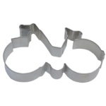 "Bicycle Cookie Cutter - 5-1/2"" THUMBNAIL"